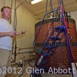 Head brewer Dave Ohmer, Saw Works Brewing Co.