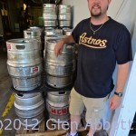 Adam Palmer, owner Saw Works Brewing Co.