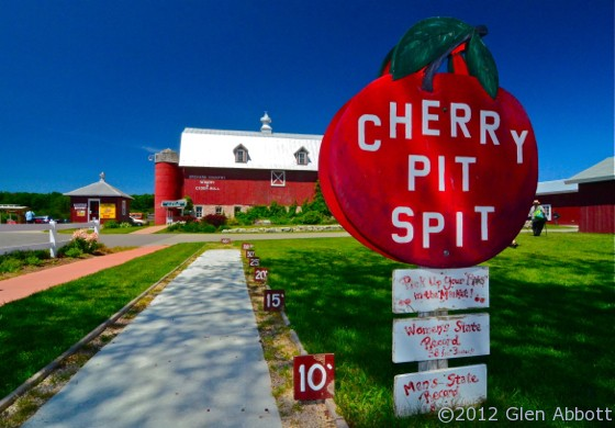 Friday Photos Cherry Pit Spittin In Door County Wi The Travelin